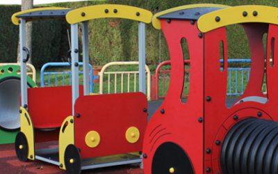 """Aire de Jeux """"Le Train"""" – Château Thierry"""
